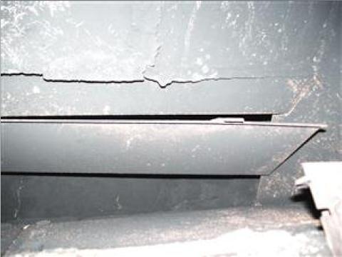 Damaged Damper