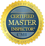 The raleigh home inspection is a certified master inspector.